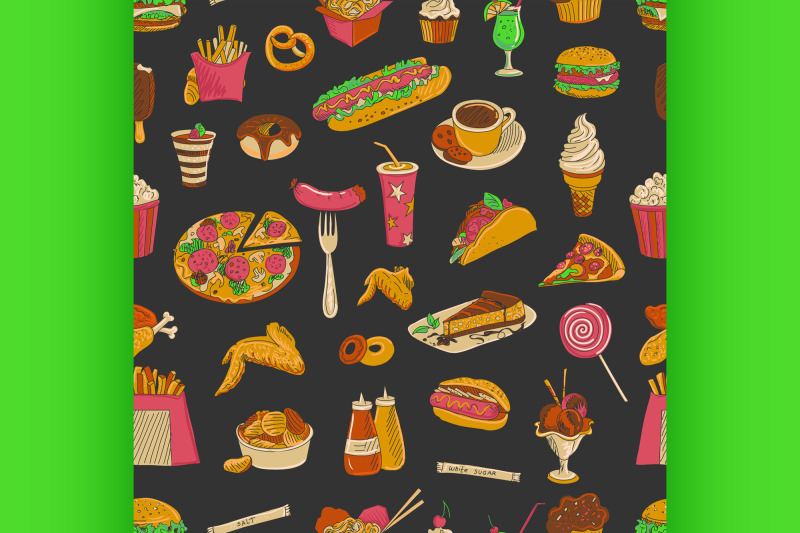 colored-hand-drawn-fast-food-pattern