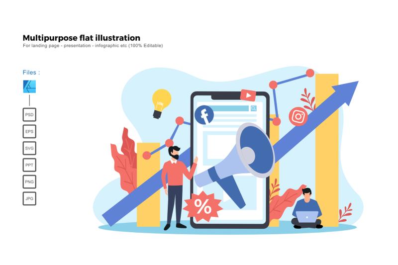 flat-illustration-digital-marketing