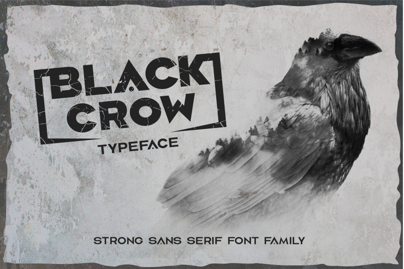 black-crow-strong-sans-serif-family