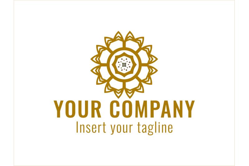 logo-gold-vector-circle-mosaic-ornaments