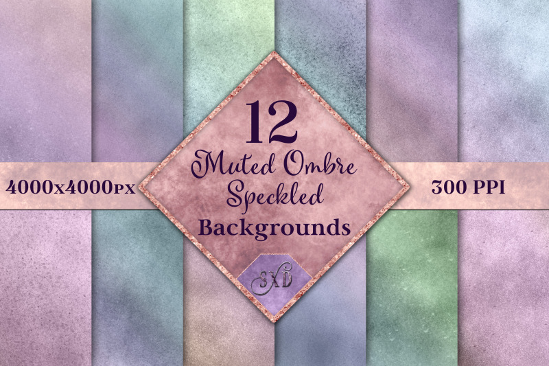 muted-ombre-speckled-backgrounds