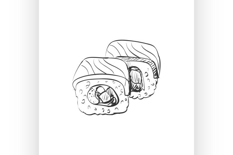 doodle-sushi