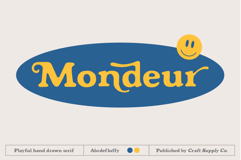mondeur-playful-hand-drawn-serif