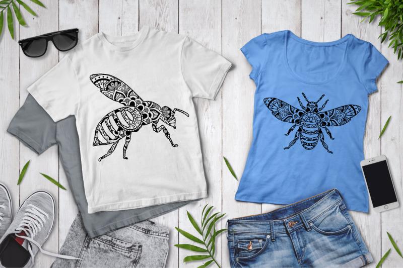 bee-mandala-svg-mandala-bee-svg-cut-files-bee-mandala-clipart