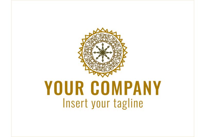 logo-gold-vector-three-color-ornament