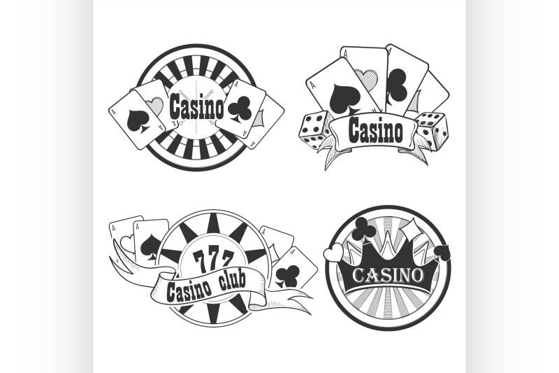 casino-and-gambling-badges-or-emblems