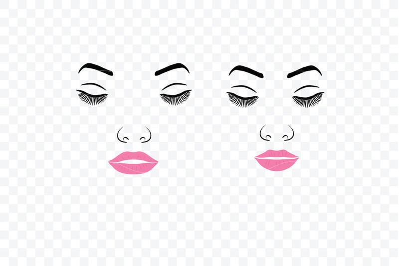 Make Up Svg Female Face Makeup 8 By Rasveta Thehungryjpeg Com