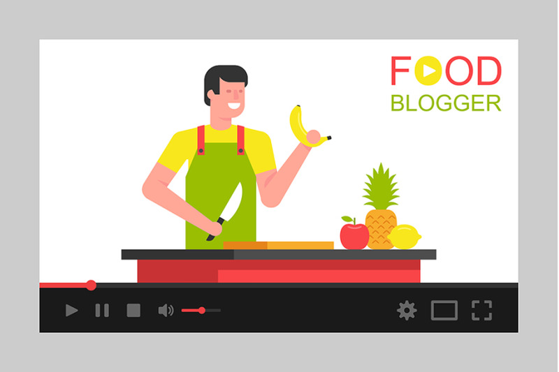 man-food-blogger