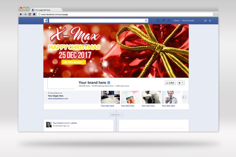 christmas-facebook-timeline