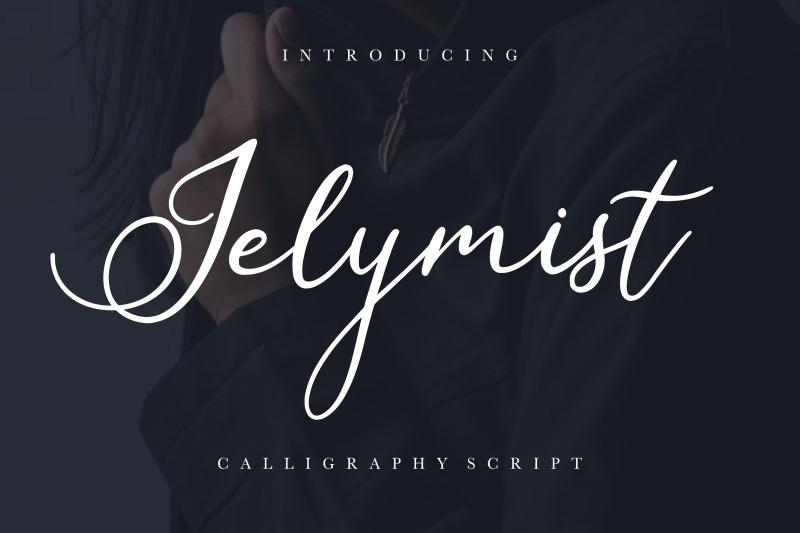 jelymist-calligraphy-script