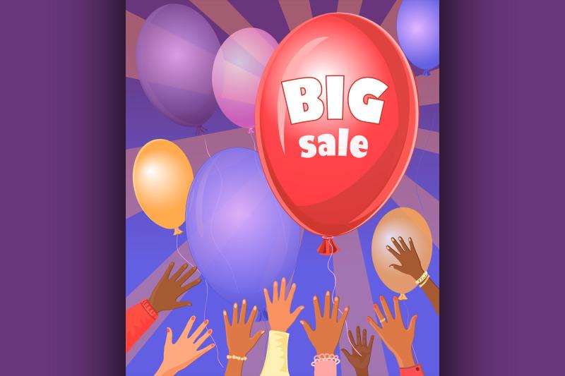 big-sale-retro-poster
