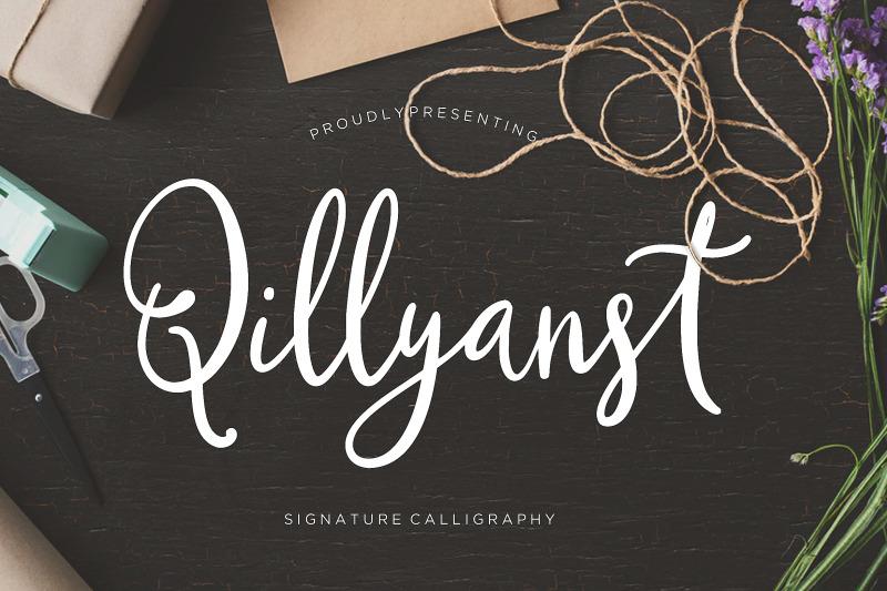 qillyanst-signature-calligraphy