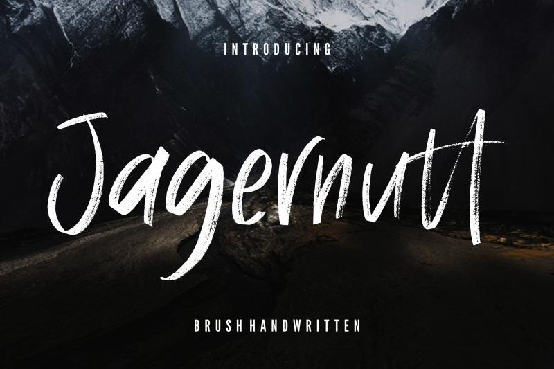 jagernutt-brush-handwritten