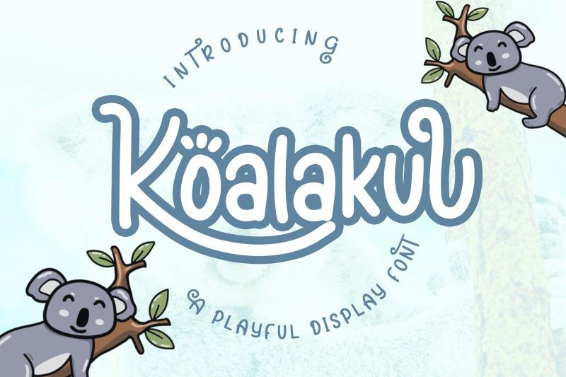koalakuu-playful-font
