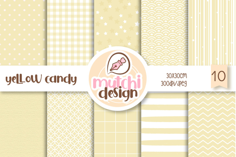 yellow-candy-color-digital-papers