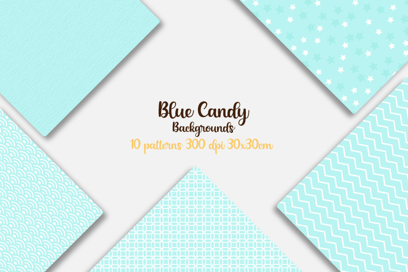 blue-candy-color-digital-papers