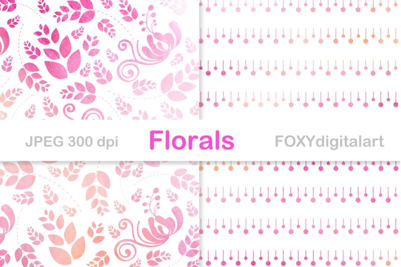 wedding-digital-paper-floral-background