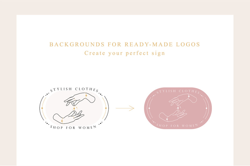line-hands-amp-logo-creator