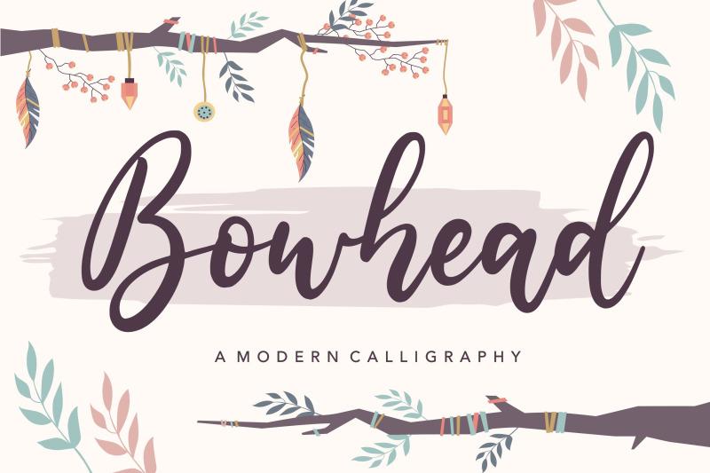 bowhead-modern-calligraphy-font