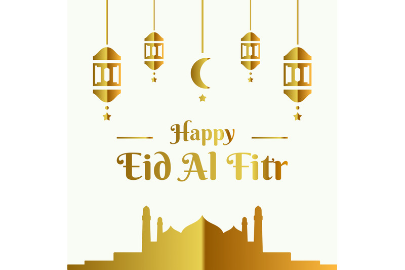 golden-happy-eid-al-fitr-banner