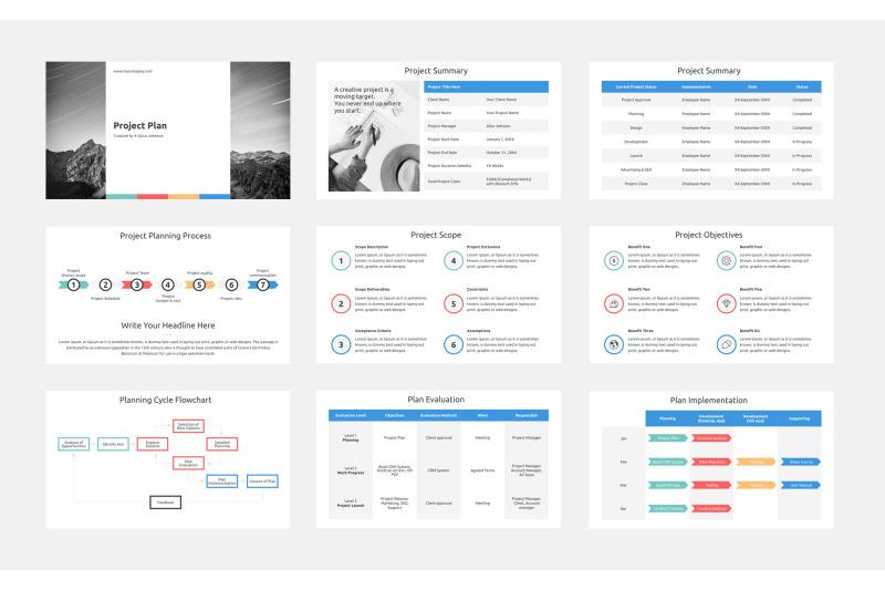 project-plan-keynote-presentation-template