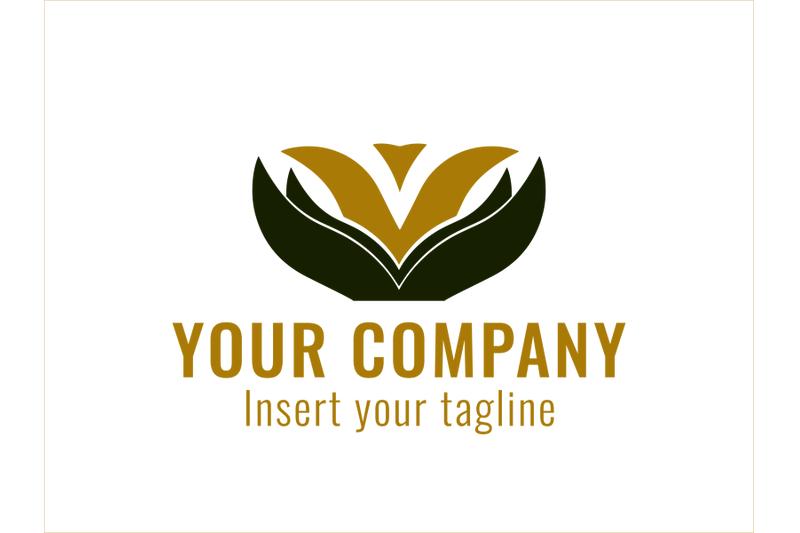 logo-gold-flower-petal-icon