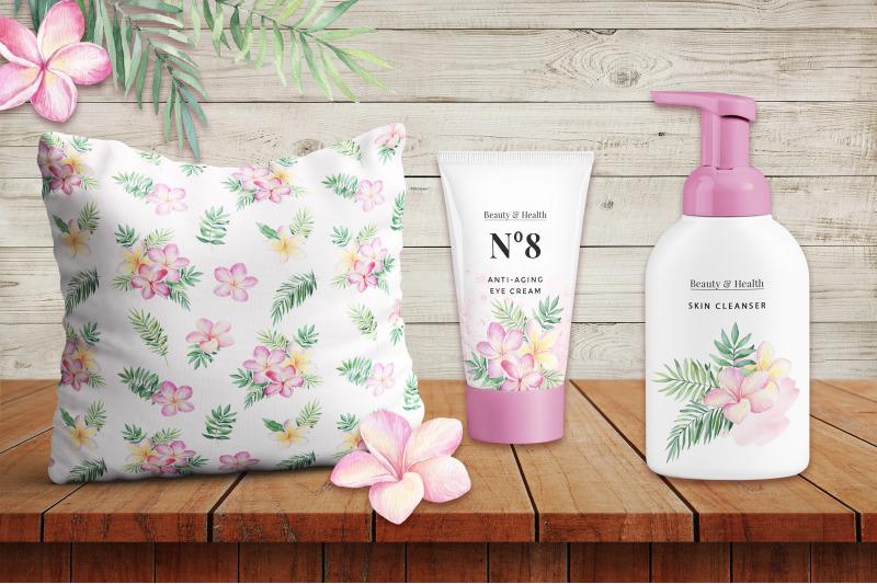 tropical-blossom-watercolor-set