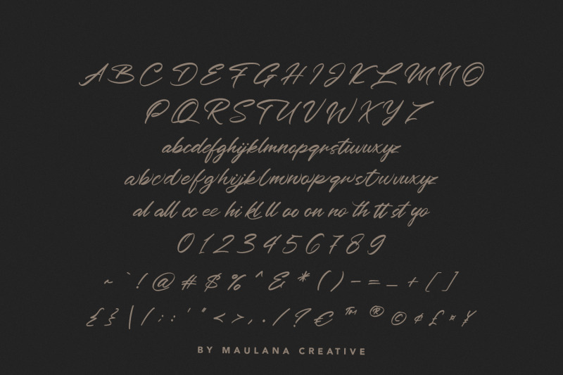 outeris-calligraphy-font