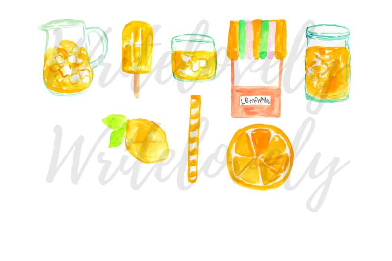 watercolor-lemonade-clipart