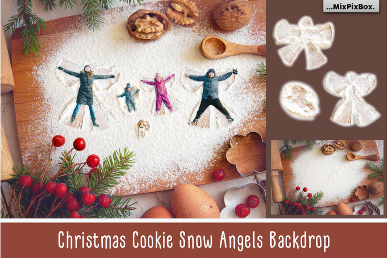 christmas-cookie-snow-angel-backdrop