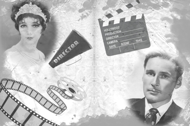 12-black-and-white-movie-themed-collage-backgrounds