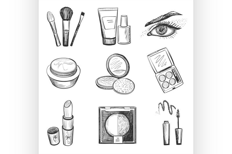 hand-drawn-makeup-icons