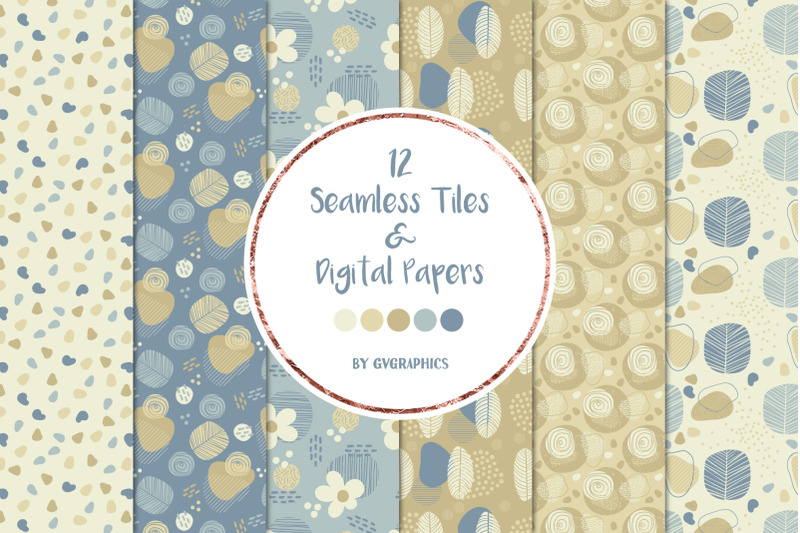 12-doodle-nature-seamless-tiles-amp-digital-papers