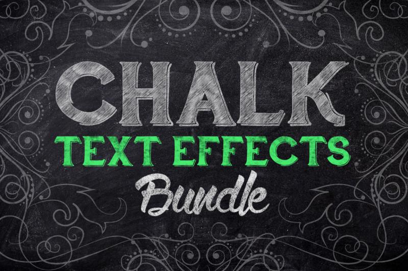 chalk-text-effect-bundle