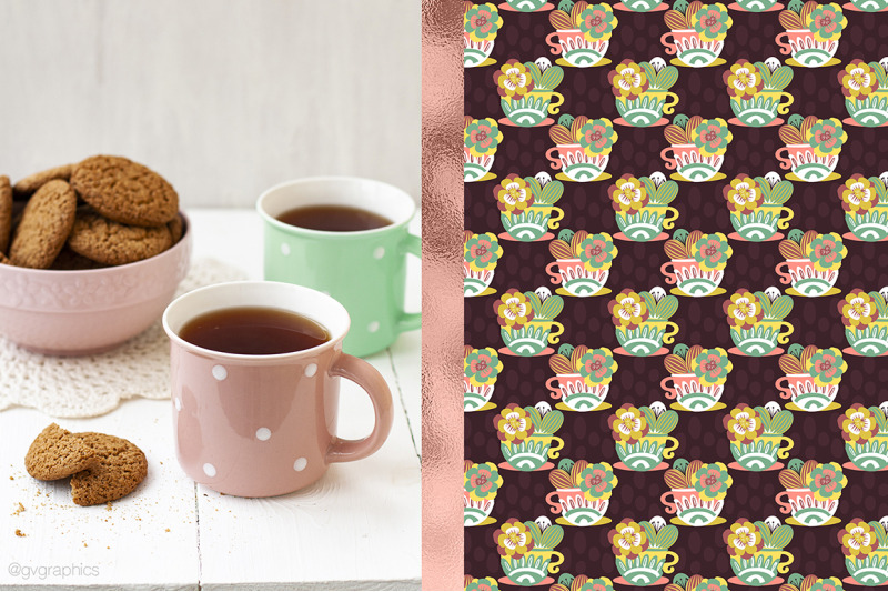 12-tea-cups-kettles-and-flowers-digital-papers-in-pink-green-and-man