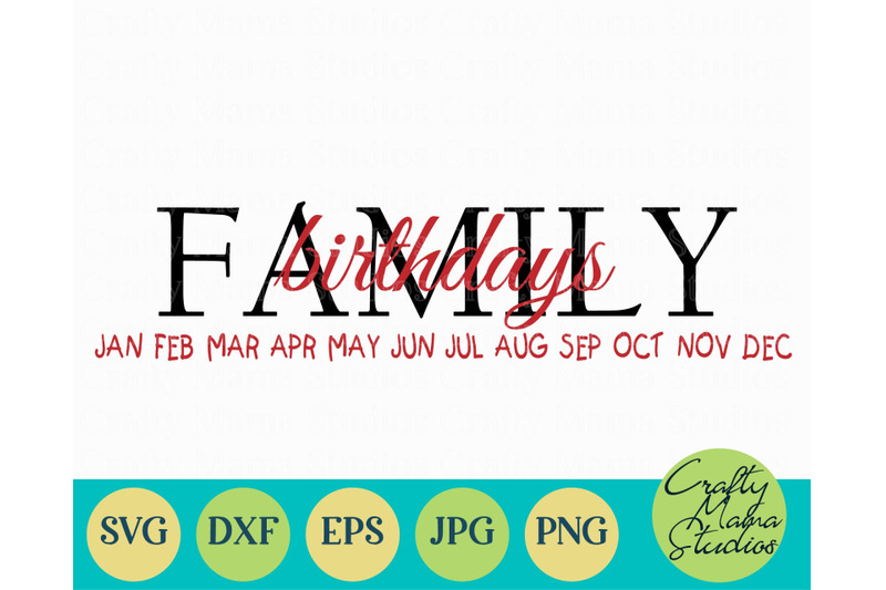 family-svg-family-birthday-board-family-celebrations