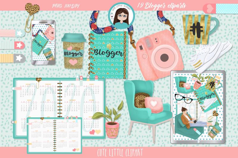 blogger-cliparts