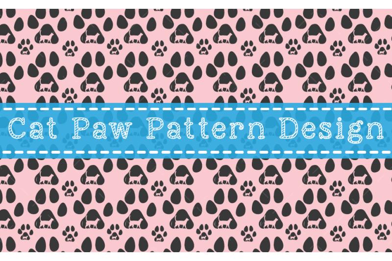 cat-paw-pattern-design