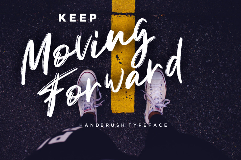 gondala-handbrush-typeface