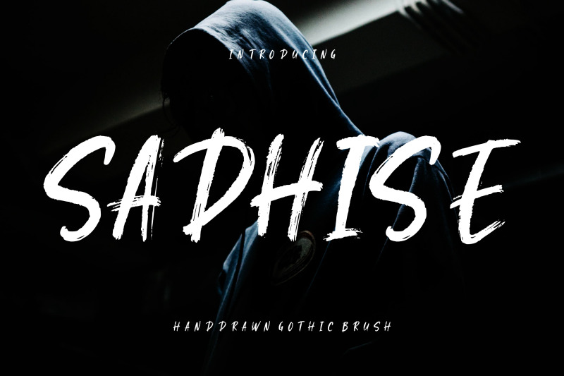 sadhise-handdrawn-gothic-brush