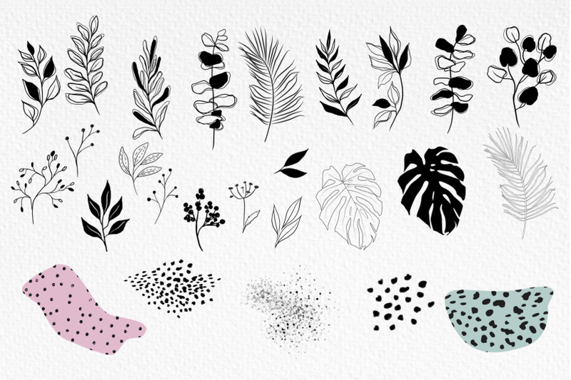 abstract-shapes-amp-plants