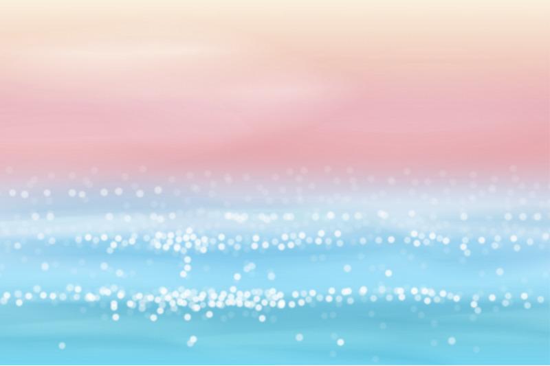 6-seascape-vector-blur-backgrounds