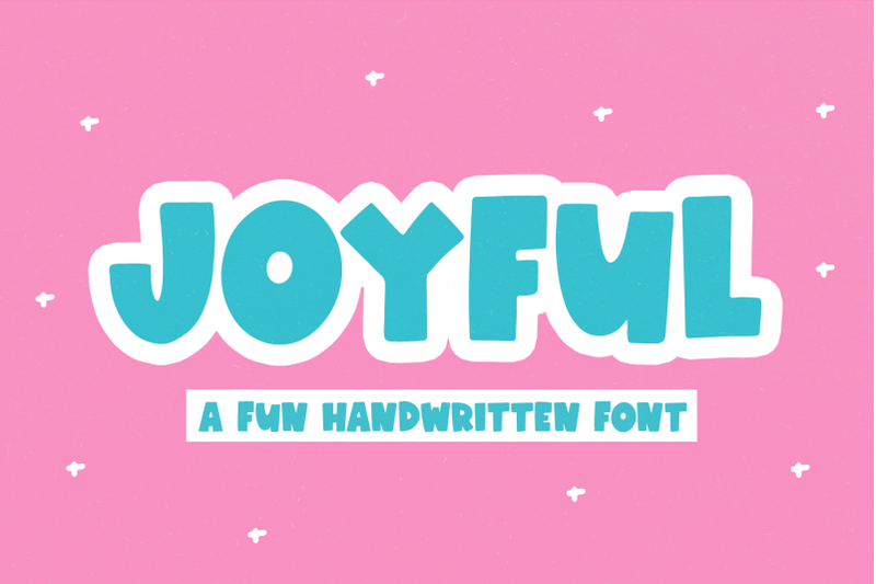 joyful-fun-handwritten-font