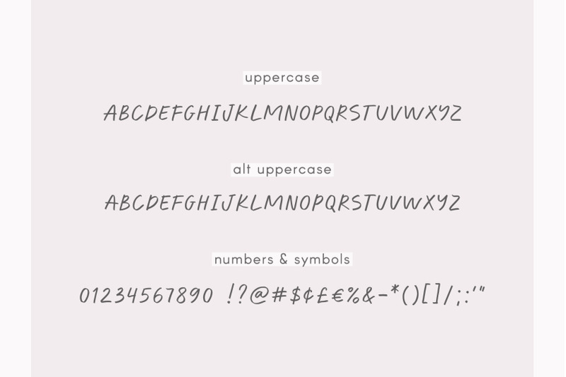 ultraviolet-handwritten-font