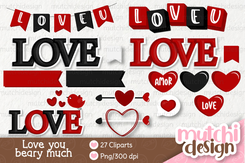 i-love-you-beary-much-clipart-set-02