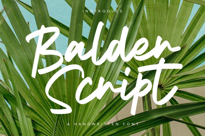 balder-script-font