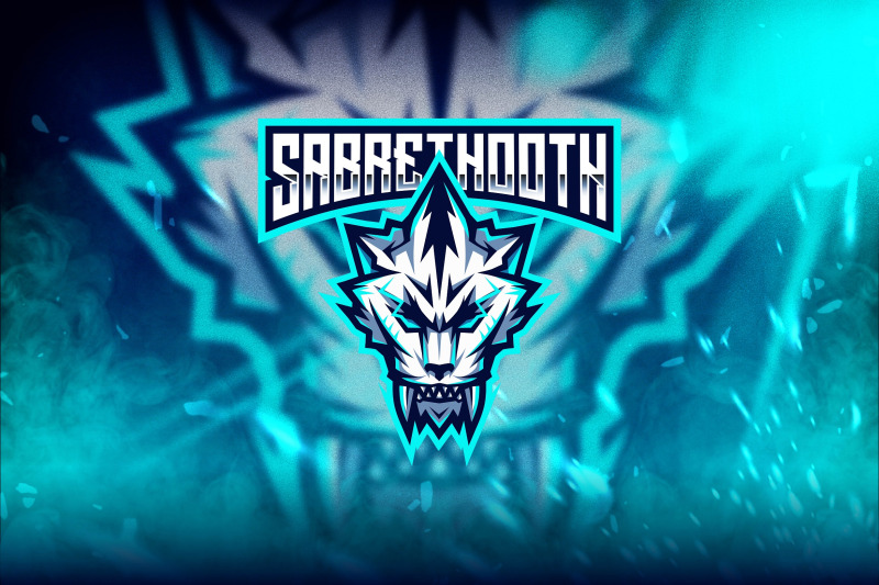sabrethooth-esport-logo-template