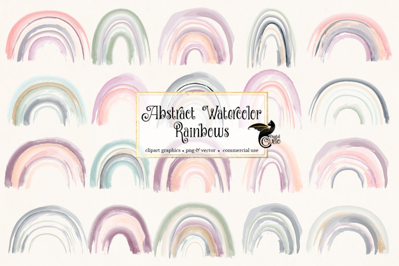 abstract-watercolor-rainbows-clipart