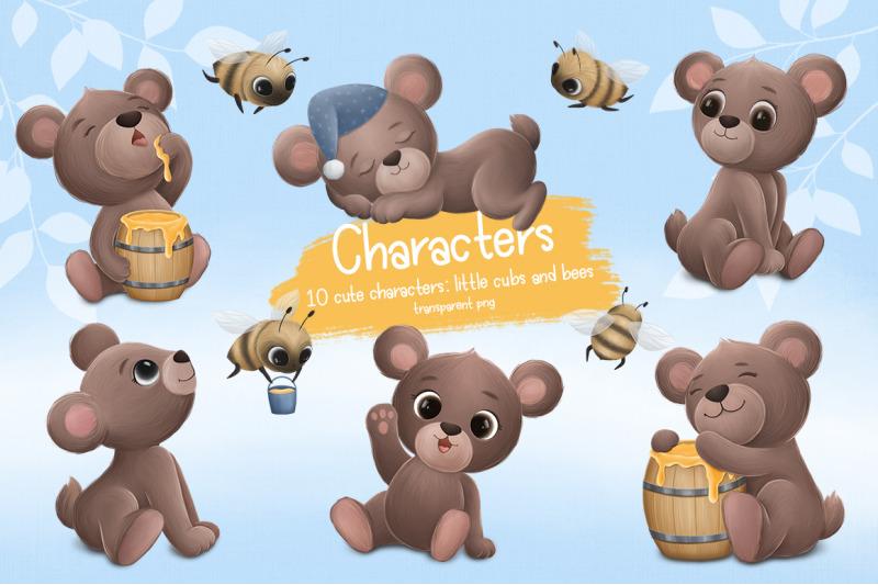 bears-and-honey
