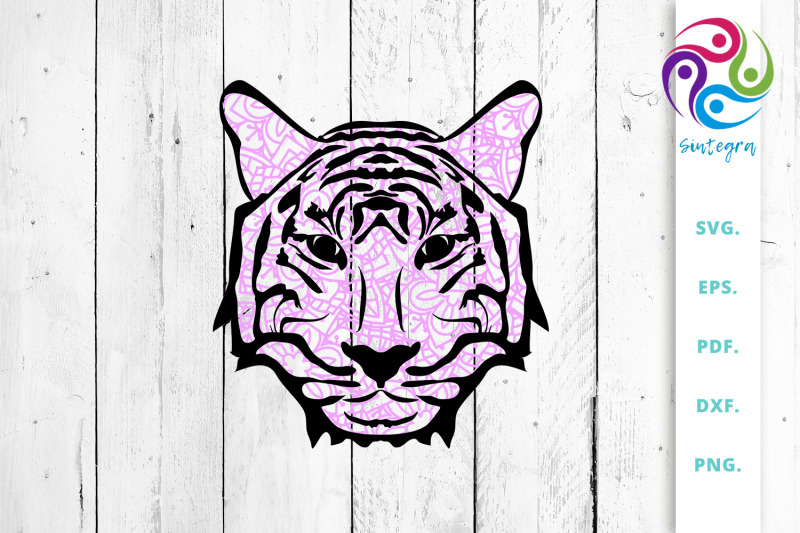 pink-zentangle-tiger-face-svg-cut-file